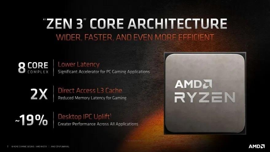 AMD a lansat seria de procesoare Ryzen 5000