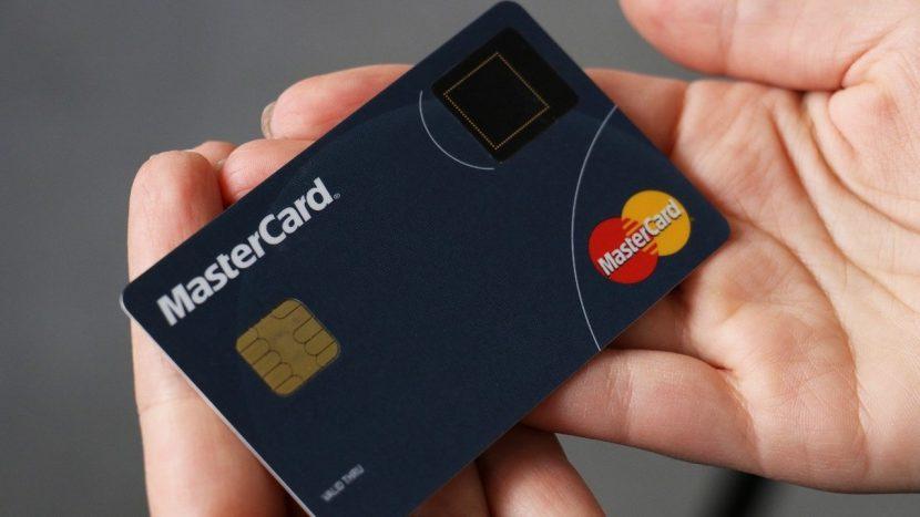 Mastercard Biometric senzor de amprenta
